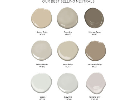 Be Inspired Timeless Neutrals Benjamin Moore Uk